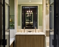 Kensington - Bleached Wenge Master Bathroom by SJL