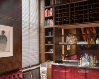 Kensington - Walnut Smoking Room by SJL