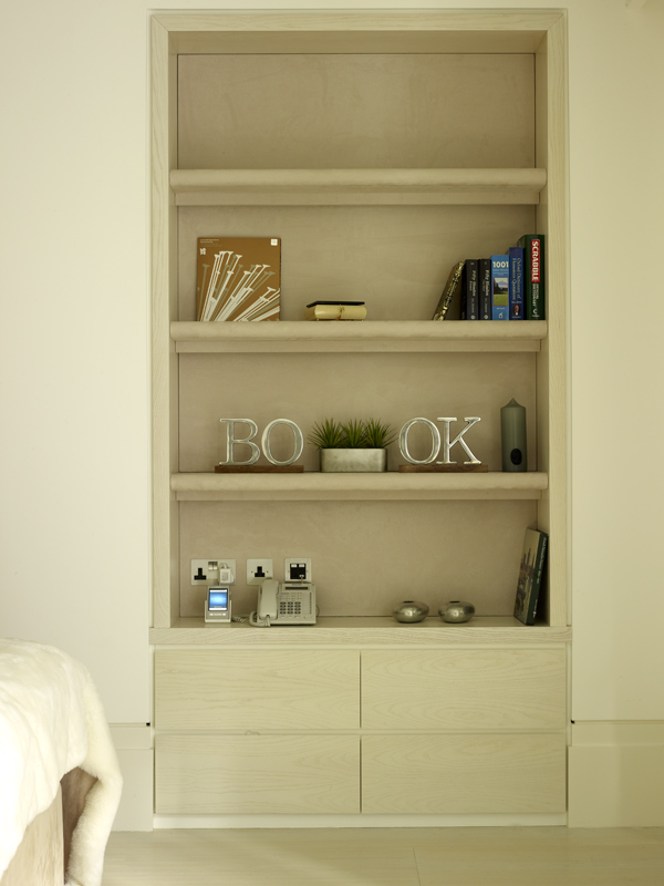 Ash Alcove Bookcase by SJL