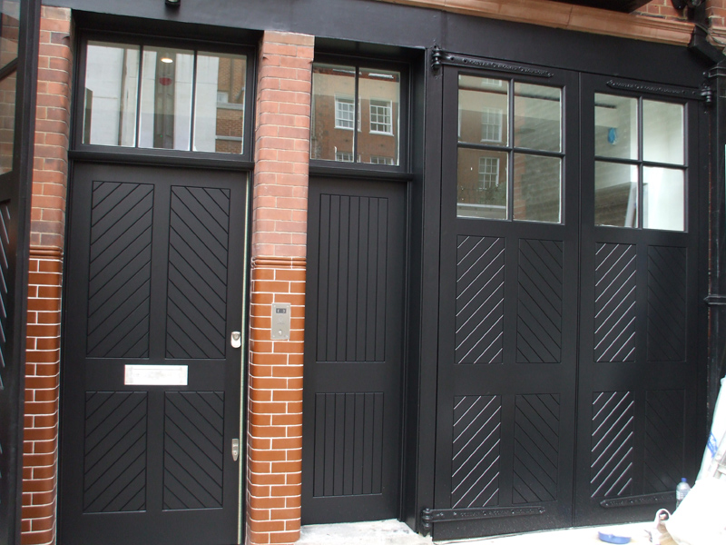 Hardwood Mews Front Doors by SJL