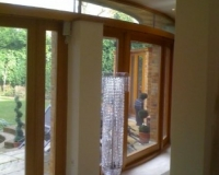 Glazed Oak doors by SJL